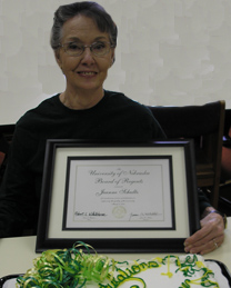 Jeanne Schultz is a 2011 Kudos Award recipient